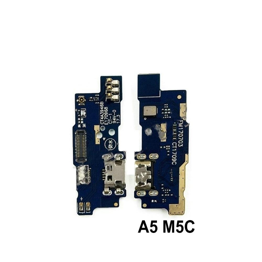 New Microphone Module+USB Charging Port Board Flex Cable Connector Parts For Meizu M5C M5 C Meilan A5 M710H 5.5