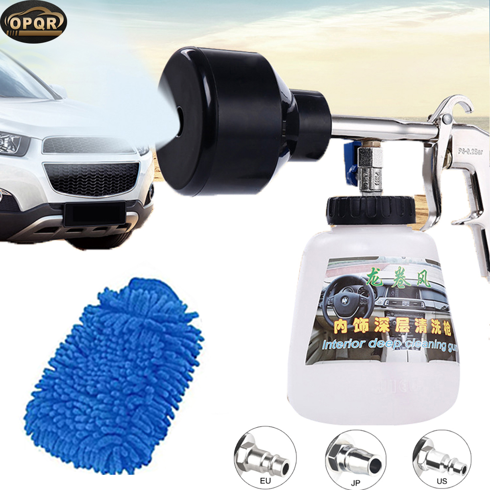 OPRQ Portable Tornado Foam Gun Car Washer Cleaning Foam Gun Snow Foam Lance Portable High Pressure Washer Deep Cleaning Sprayer image
