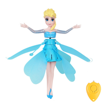 2020 Princess Drone RC Helicopter Aircraft Flying Ball Flying Toys Ball Shinning LED Lighting Fly Helicopter Kids Toys cheap Disney Puppets CN(Origin) Unisex none As picture Robot First Edition 3 years old Peripherals asf30 Western Animiation