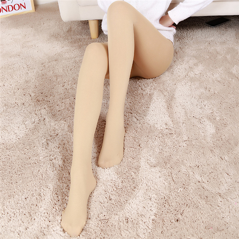2019 Spring Autumn Women Fashion New Arrivel Plus Thick Velvet Warm Leggings Hot Slim Solid  High Elastic Waist Warm Leggings