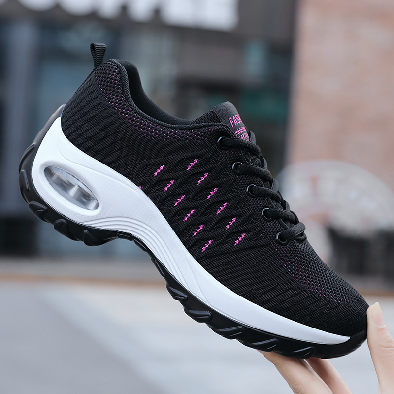 Damyuan Women's shoes2019 mesh breathable sneakers women's lightweight soft walking shoes fashion casual shoes ladies flat shoes