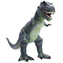 Soft glue dinosaur toys simulation animal model children and boys oversized king dragon tyrannosaur