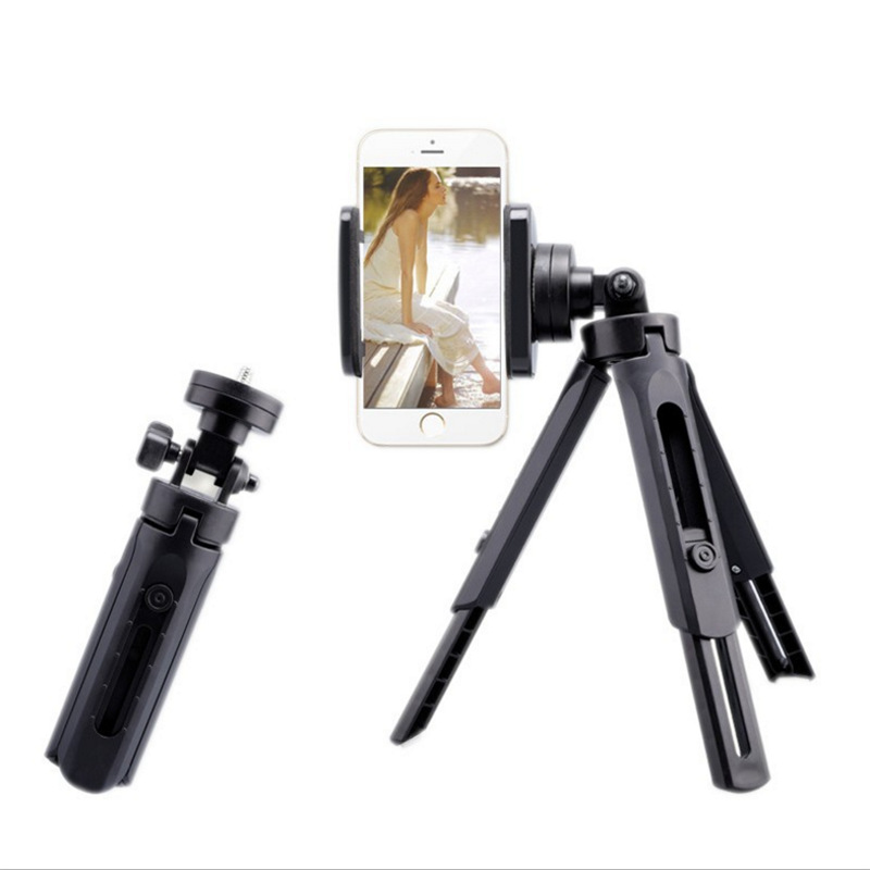 Sports Camera Portable Small-sized Mobile Phone Tripod Mini Desktop Live Video Horizontal And Vertical Shoot Suppor