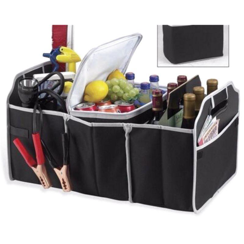 Multi-tasche Tragbare Auto Trunk Organizer Umweltfreundliche Faltbare Fracht Lagerung Box Für Auto Lkw Lagerung Tasche