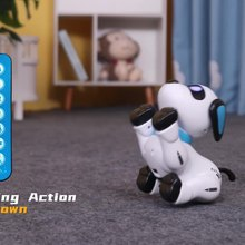 kids boys Sing Dance Electronic Pet Remote Control Dog Robotic Stunt Puppy Programmable Rc Robot Toys
