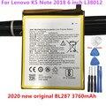 Оригинальный аккумулятор высокого качества BL287 3760 мАч для Lenovo K5 Note 2018 6 дюймов L38012 батарея + Инструменты