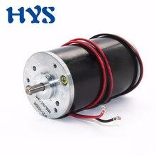 купить HYS Mini Motor DC12V 24V High Speed 4000rpm 8000rpm Electric Motor Reversible CW/CCW DC 12 Volt 24 V Micro Motors DIY дешево