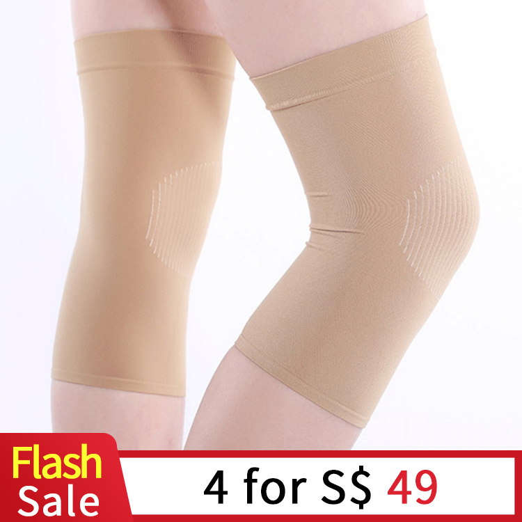 Summer Stockings Knee Pads Ultra-thin Breathable Invisible Unisex Air Conditioning Warm Knee Pads Dancing Protective Gear