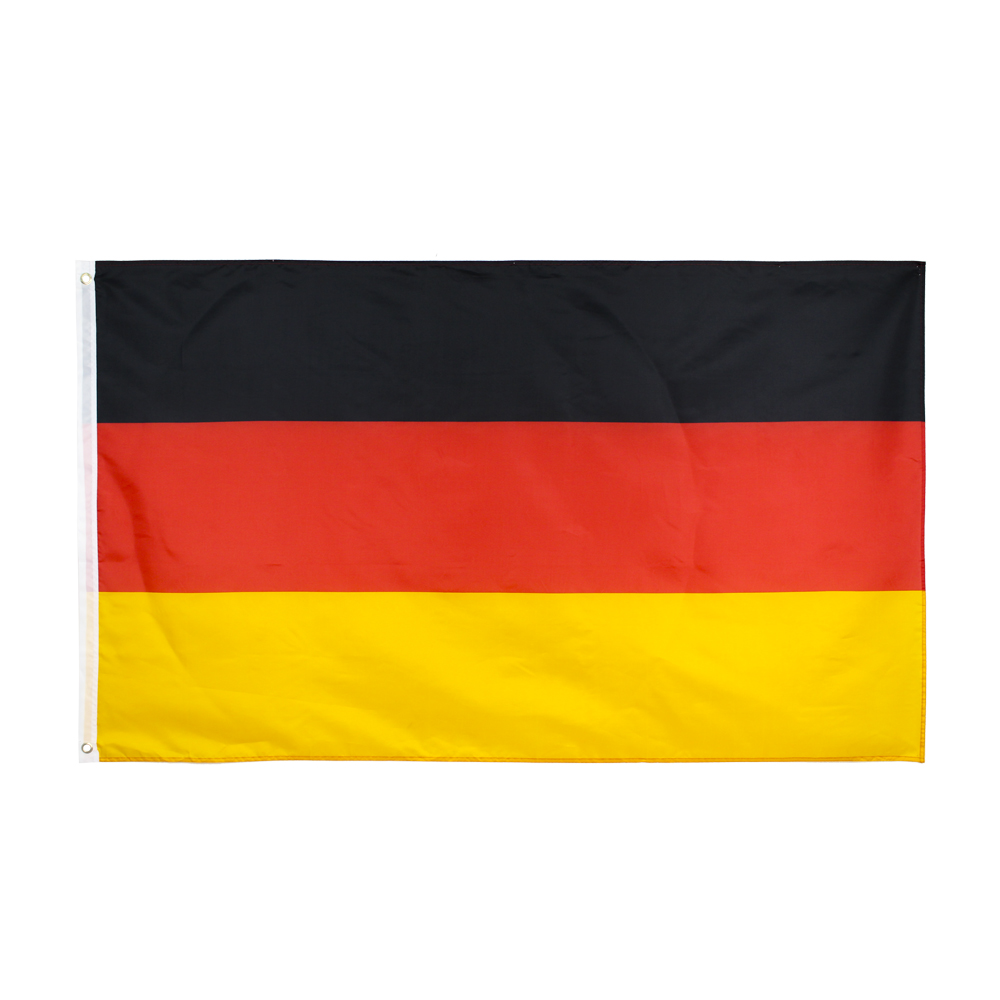 Xiangying   90x150cm black red yellow de deu german Deutschland germany flag