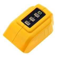 USB Konverter Ladegerät Für 12V18V2 0V Li Ion Batterie Converter ersetzen DCB090 DCB091 USB Lade Adapter Netzteil