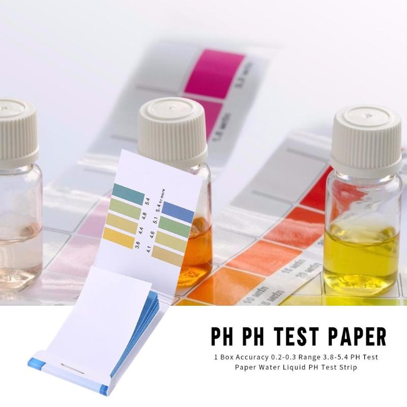 1 Box Precision PH Test Paper Water Quality Acidity Alkalinity PH Test Strip Used To Test Moisturizing Soap Lemon Milk