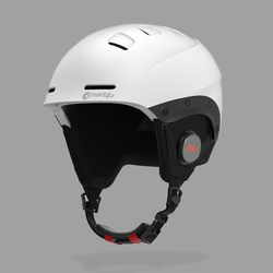 Smart4u Bluetooth Cycling Helmet Men Low-temperature-resistant Ski Helmet Skateboard Bike Helmet Detachable Lining PC+EPS
