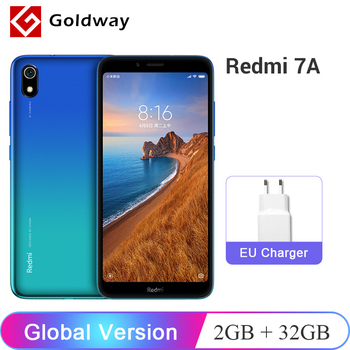 "Global Version Xiaomi Redmi 7A 7 A 2GB RAM 32GB ROM Mobile Phone 5.45"" Snapdargon 439 Octa core 4000mAh Battery 12MP Camera"