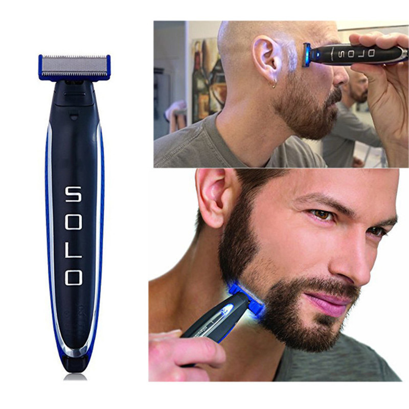 Shaver Multifunctional Washable USB Rechargeable Electric Men'S Razor ABS Shaver Three Heads Full Body Shaver