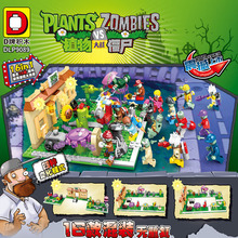 Military Series Superhero Series Plants Vs Zombies Mini Mutants Action Figures Toys  For Children Gifts Compatible Lepining