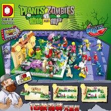 Seria wojskowa seria superbohaterów rośliny kontra zombie Mini mutanty figurki zabawki dla dzieci prezenty kompatybilny Lepining
