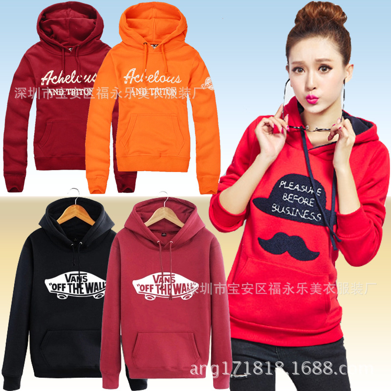 Autumn And Winter New Style WOMEN'S Long-sleeved Fleese Casual Loose-Fit WOMEN'S Top WOMEN'S Sweater Stall Supply Of Goods