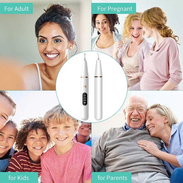 Электрическая звуковая щетка для снятия зубного камня 6