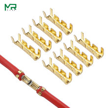 50 pces/100 pces 453 guia terminal em forma de u inserções frias conectores terminal frio dentes pequenos fáscia terminal,0.3-1.5mm2