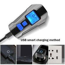 Đèn Gắn Xe Đạp Xe Đạp Đèn Led USB Phía Trước 4 Mô Hình Xe Đạp Đèn Trước Xe Đạp Chống Thấm Nước Máy Tính Bluetooth Chuông Xe Đạp Điện