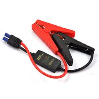 200A Smart Fully Protected 14 inch Intelligent EC5 Connector Emergency Alligator Clamp for 12V Jump Starter Battery Pack|Alligator Clips| |  -