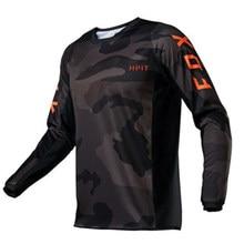 Hpit Fox-camisetas de ciclismo de montaña para hombre, ropa deportiva para Motocross, FXR, 2020