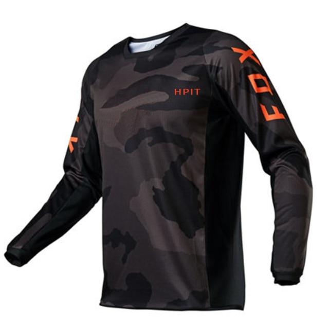 2020 Mens Downhill Jerseys hpit fox Mountain Bike MTB Shirts Offroad DH Motorcycle Jersey Motocross Sportwear Clothing FXR bike