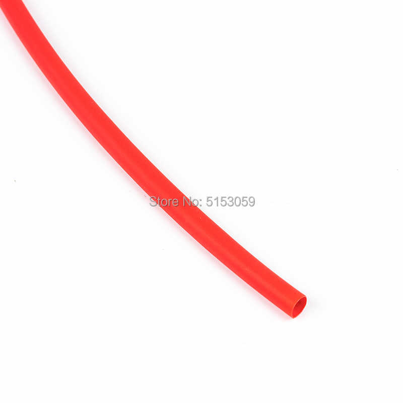 5 เมตร 2:1 สีดำสีแดงสีเขียวสีน้ำเงินสีเหลือง 1 2 3 5 6 8 10 มม.HEATSHRINK ท่อ sleeving Wrap Wire CONNECTOR DIY ซ่อม