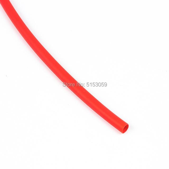 5 metr 2:1 czarny czerwony zielony niebieski żółty 1 2 3 5 6 8 10mm średnica rurki termokurczliwe Tube owijka termokurczliwa do przewodu złącze diy naprawa
