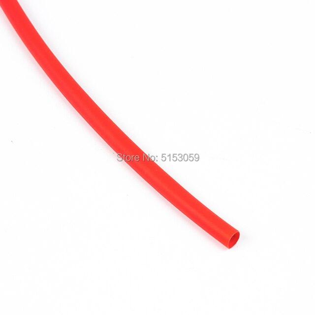 5 metro 2:1 Nero Rosso Verde Blu Giallo 1 2 3 5 6 8 10 millimetri di Diametro Tubo Termoretraibile Tubo manicotti Wrap Wire Connettore FAI DA TE di Riparazione