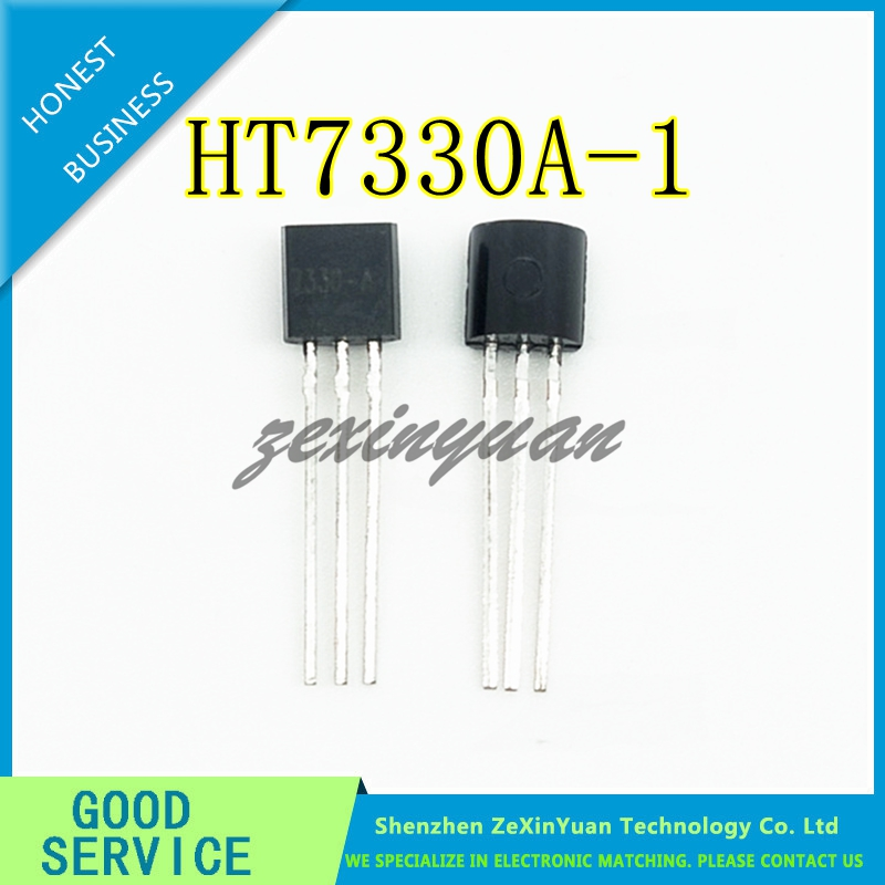 20PCS/LOT 7330-A TO-92 HT7330A-1 HT7333-1 HT7330-A 7330A-1 Low Power Consumption LDO