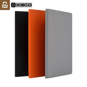 Youpin 2pcs KACOGREEN Noble Paper NoteBook PU Cover Slot Book for Office Travel with a Gift/KACO Green Pen/KACO Refills