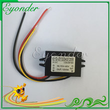High power approved 8v 9v 10v 12v 13.8v 14v 15v 16v 18v 19v 20v 24v 28v 29v 30v dc to dc 12v to 5v 3a 15w power supply module(China)