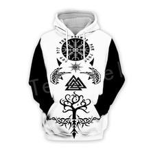Tessffel Unisex Viking Tattoo Warriors Tracksuit Newfashion casual MenWomen 3DPrint Sweatshirts/Hoodie/shirts/Jacket s-16