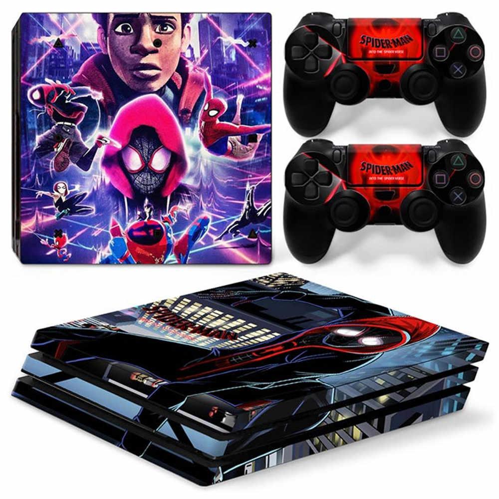 ماريو قطعة واحدة الرجل العنكبوت هدية ملصق مائي الفينيل و ملصق الجلد مجموعة ل PS4 برو وحدة التحكم و تحكم