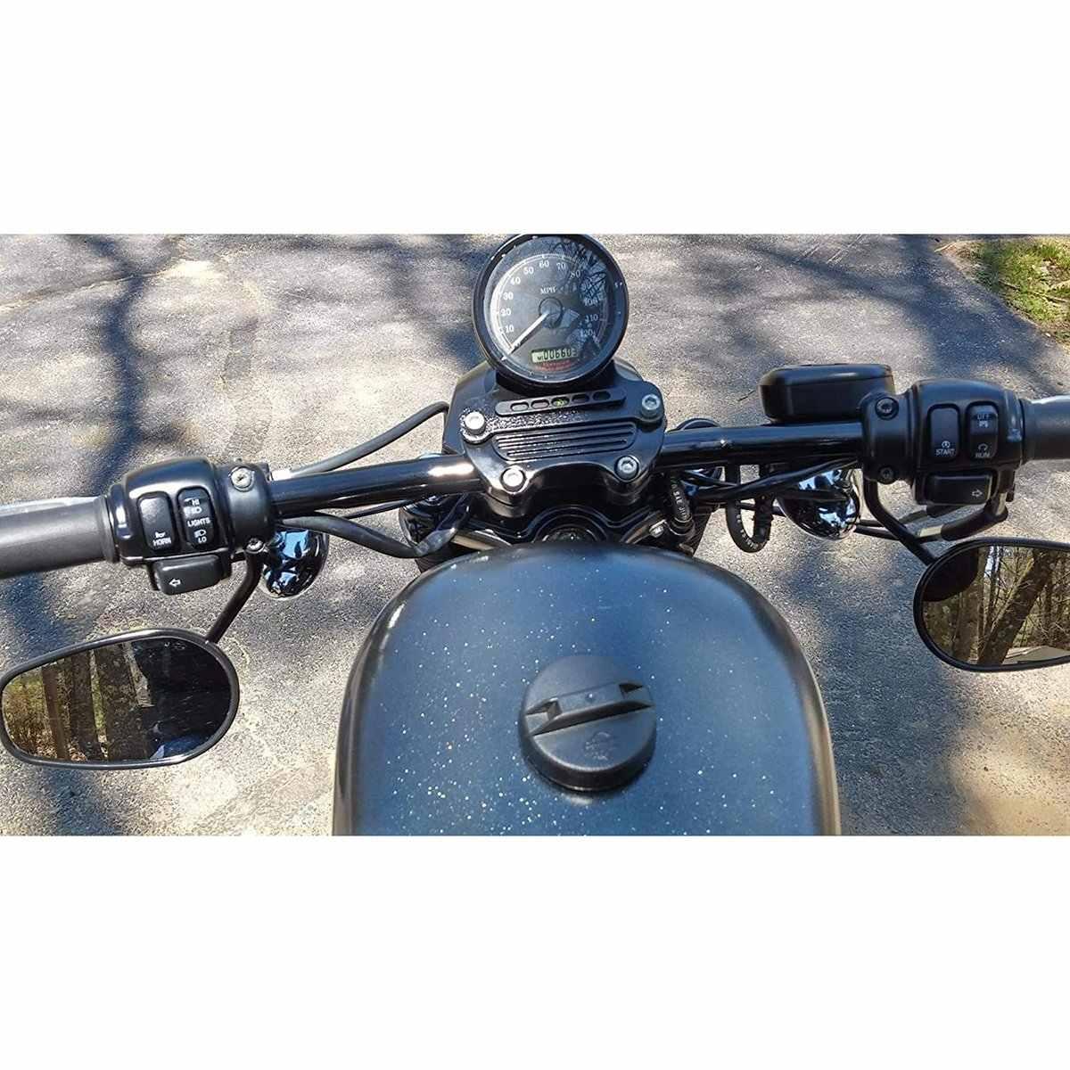 Manillar de motocicleta 7//8 22 mm Drag Barra recta para Honda Yamaha Kawasaki Suzuki BMW Chopper Bobber
