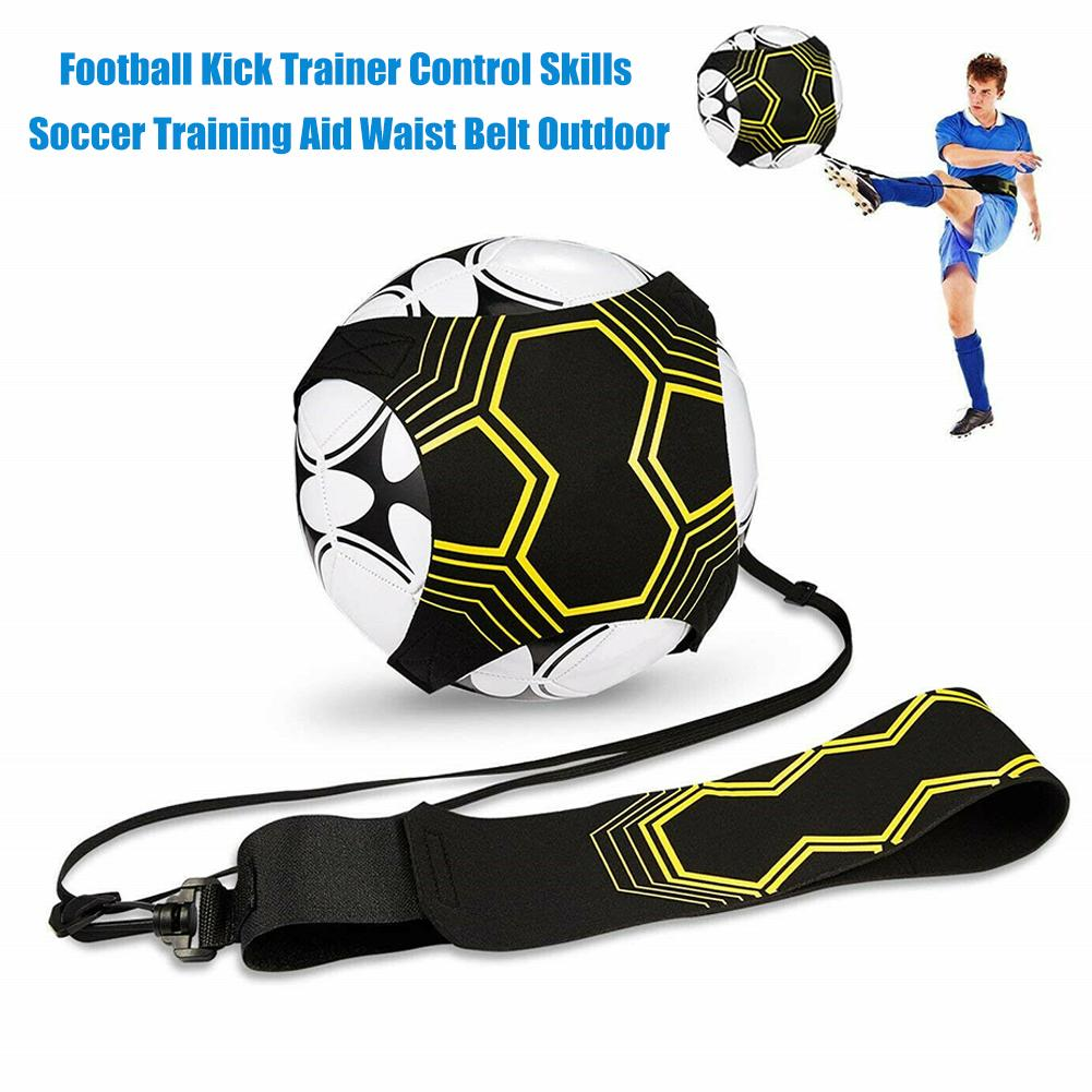 Adjustable Football Kick Trainer Soccer Kicker Training Aid Equipment Waist Belt Soccer Kicker Training Aid Equipment Waist Belt