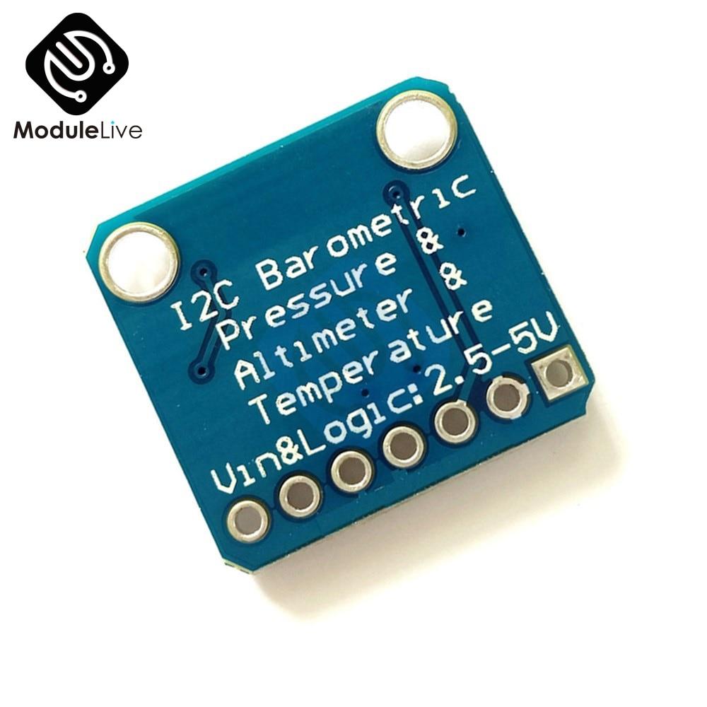 Mpl3115a2 i2c sensor de altitude pressão temperatura inteligente v2.0 para arduino