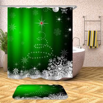 Ściany wiszące ekrany kąpielowe geometryczna zasłona prysznicowa łazienka wodoodporne ekrany kąpielowe dekoracje świąteczne wielowarstwowa zasłona prysznicowa 4 tanie i dobre opinie CN (pochodzenie) Poliester Amerykański styl cartoon Ekologiczne Other T16YL011 W150cm*L180cm W180cm*L200cm 350~400g Use as bathroom curtain window pannel or door