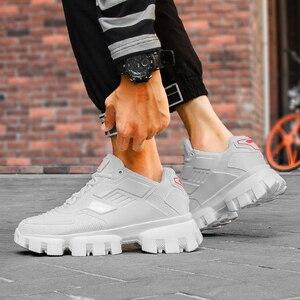 Image 5 - Popularne męskie obuwie trenerzy męskie Sapato Masculino buty do chodzenia Krasovki lekkie męskie buty czarne Tenis Zapatillas Hombre
