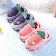 Детские тапочки для маленьких мальчиков и девочек заднего каблука