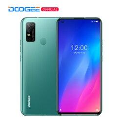 DOOGEE N30 полный нетком 6,55 дюймдюйма с четырехъядерным процессором Камера 128 ГБ Встроенная память Octa Core глобальная версия мобильного телефона 4500mAh ...