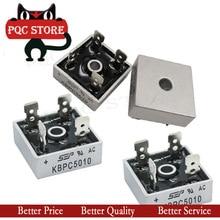 2PCS/LOT KBPC5010 50A 1000V Diode Bridge Rectifier kbpc5010