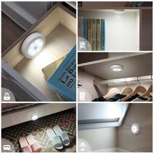 Zasilany z baterii czujnik ruchu lampka nocna 6led PIR detektor indukcyjny kinkiet do pokoju korytarz schody szafa szafka oświetlenie tanie tanio OKAL RED EAST CN (pochodzenie) kitchen led lights for kitchen LED Strip Light