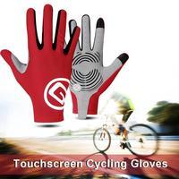 Radfahren Fahrrad Handschuhe Touchscreen Thermische Winddicht Bike Handschuhe Halten Warme Herbst Winter Dicke Sport Handschuhe Ausrüstung