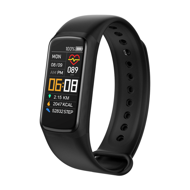 Fitness Bracele Waterproof Sport Fitness Tracker Blood Pressure Heart Rate Pedometer Smart Band Watch For Android IOS 1
