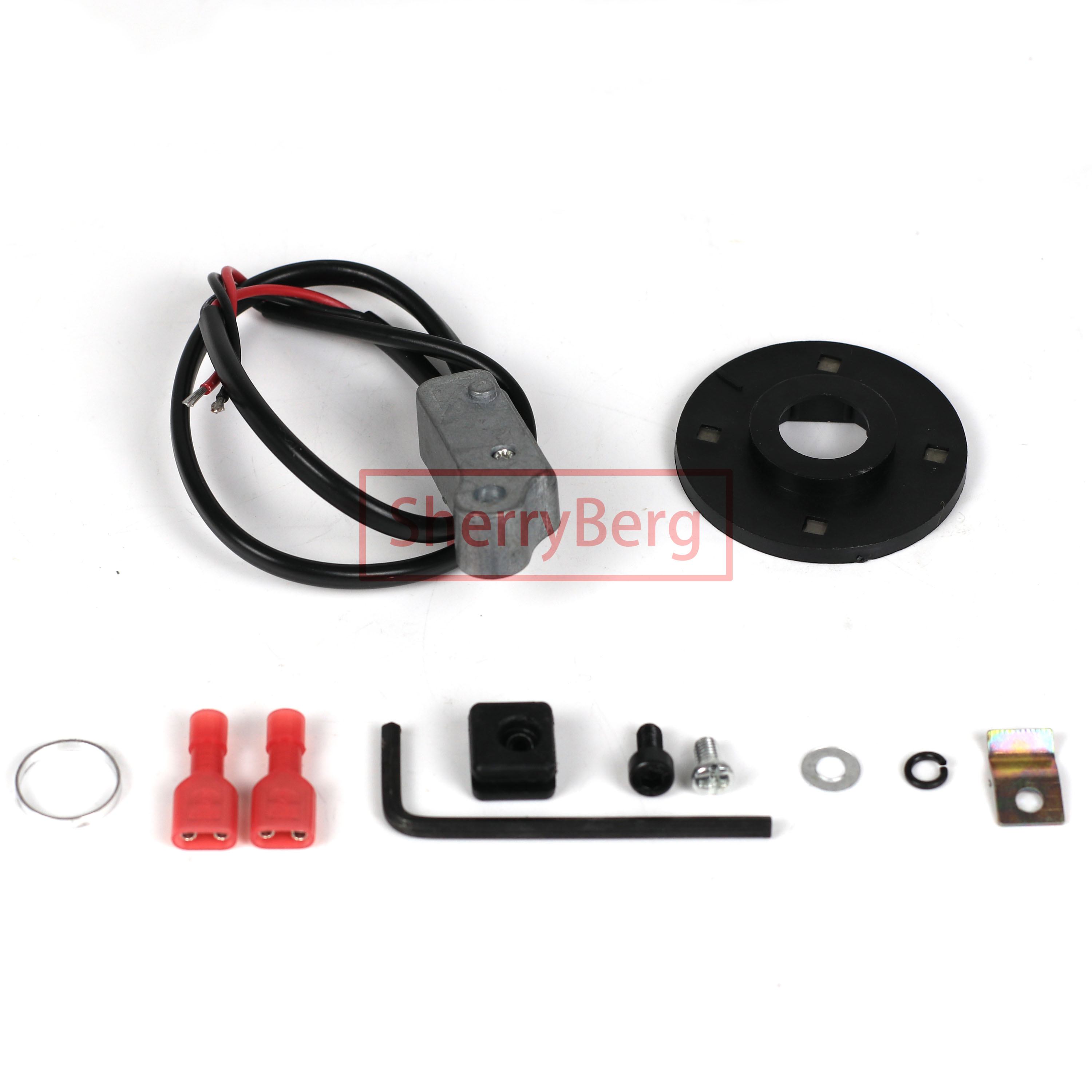 SherryBerg Distributor Electronic IGNITION KIT for 009 Ignition Distributor Electronic Module Tune Kit For VW Aircooled Beetle