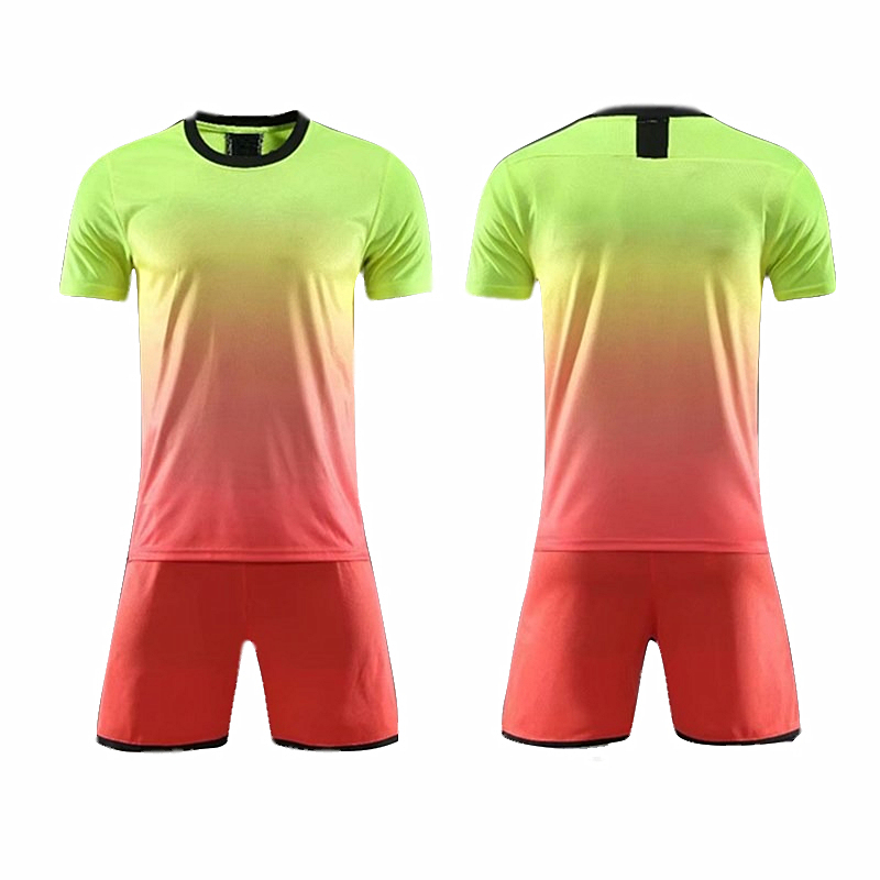 Blank Adult And Kids Soccer Jerseys 19/20 Shirts+shorts Two Pieces Fashion Tracksuit Uniform Survetement Football Jersey Sets