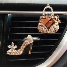 Car Decor Diamond Purse Car Air Freshener Auto Outlet Perfum