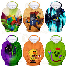 2019 Men Hoodies Shooting Game 3D Printed Hoodie Sweatshirt Boys Girls Harajuku Streetwear Jacket Coat Kids Clothes